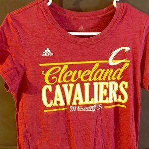 adidas Women's Cleveland Cavaliers T Shirt